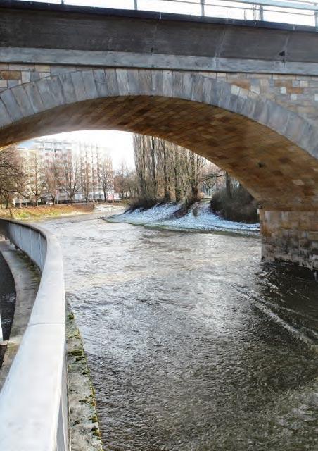 Bayreuth - Stadt am Fluss - Brücken am Roten Main