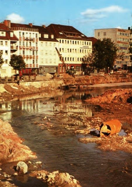 Bayreuth - Stadt am Fluss - Hochwasser und Mainregulierung