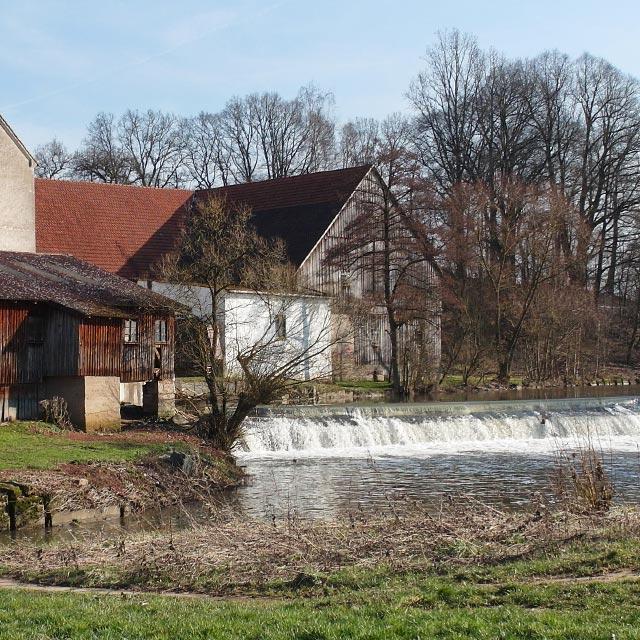 Mühle Dreschen