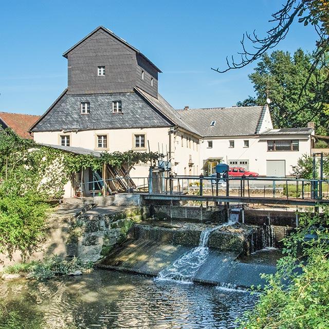 Unterkonnersreuther Mühle - Wiesenmühle