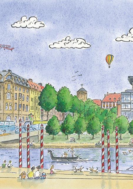 Visionen Stadt am Fluss