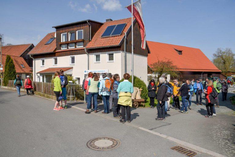 Mühle Heinersreuth am 1. Rotmaintaler Mühlentag