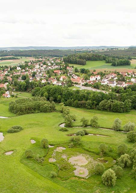 Heinersreuth aus der Luft