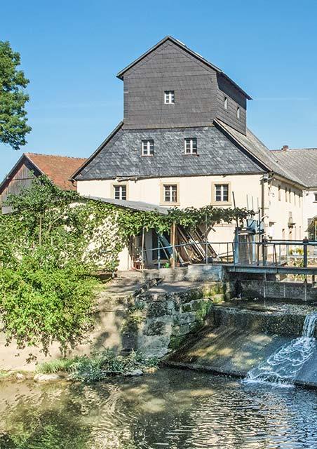 Historische Wiesenmühle Unterkonnersreuth