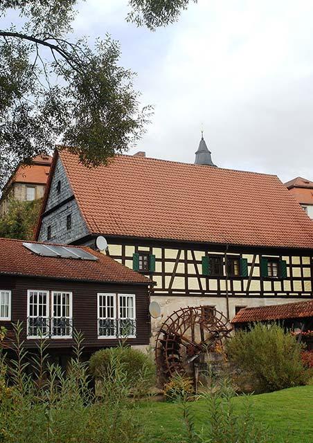 Historische Bergmühle