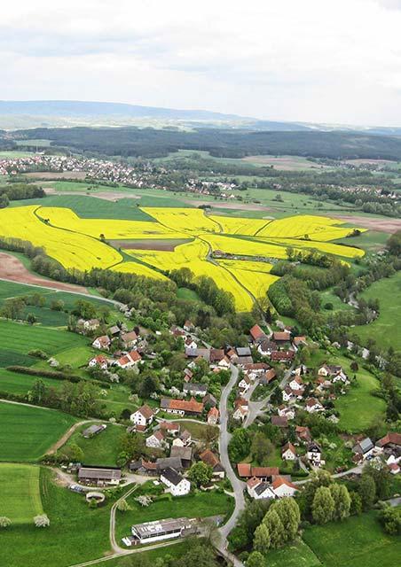Neuenreuth aus der Luft