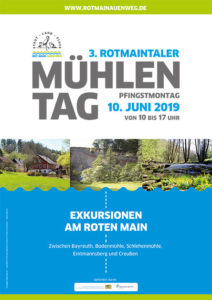 Plakat des 3. Rotmaintaler Mühlentag