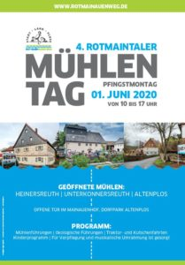 Plakat des 4. Rotmaintaler Mühlentag
