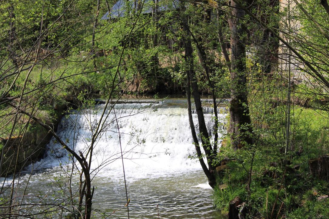 Wasserverlauf an der Bruckmühle