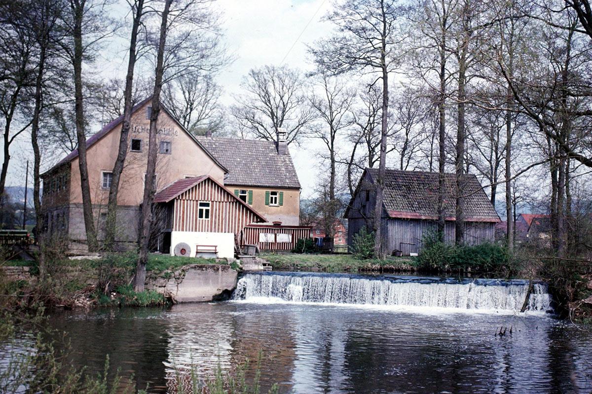 Die Frischenmühle in den 1960er-Jahren
