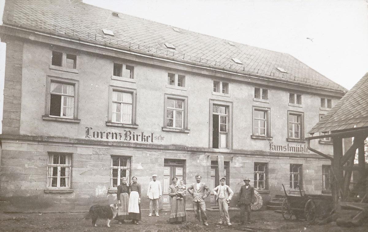 Die Kunstmühle - Foto aus dem Jahr 1910