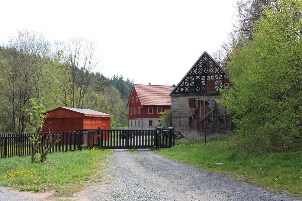 Der Zugang zur Eimersmühle