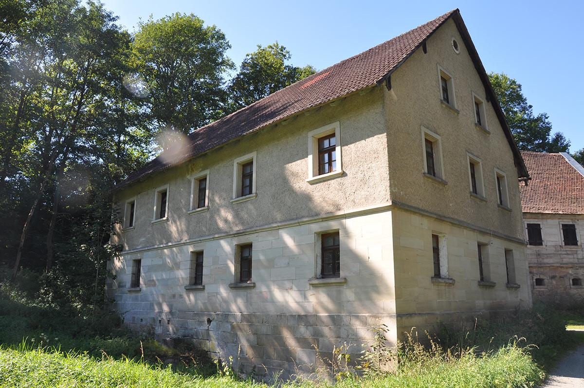 Die Eimersmühle vor der Renovierung
