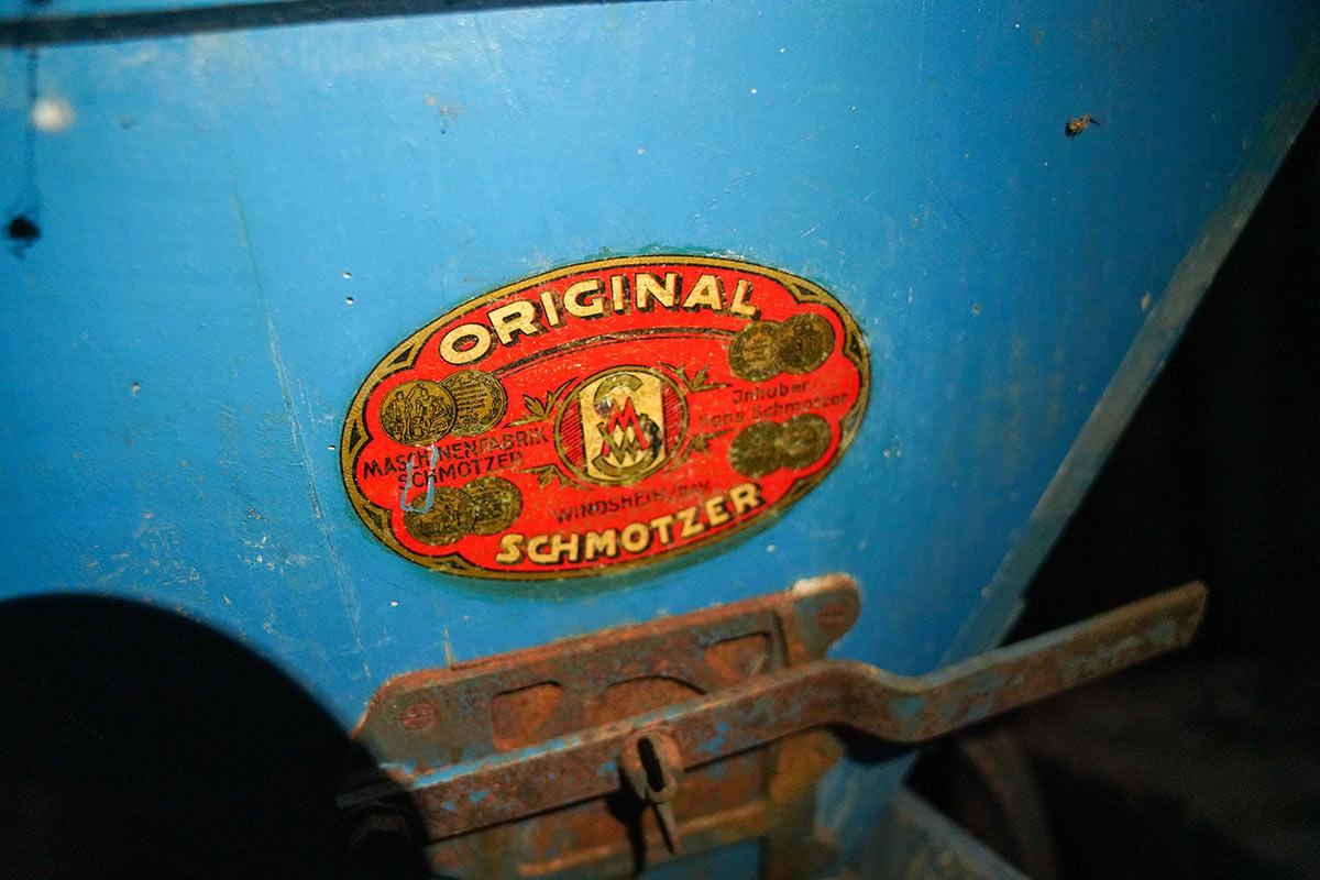 Alte Getreidemühle der Firma Schmotzer in der Sägmühle