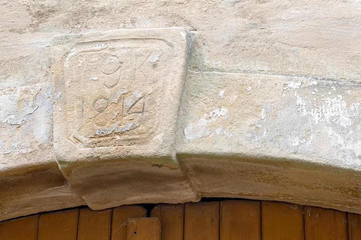 Schlehenmühle - Jahreszahl am Wohnhaus