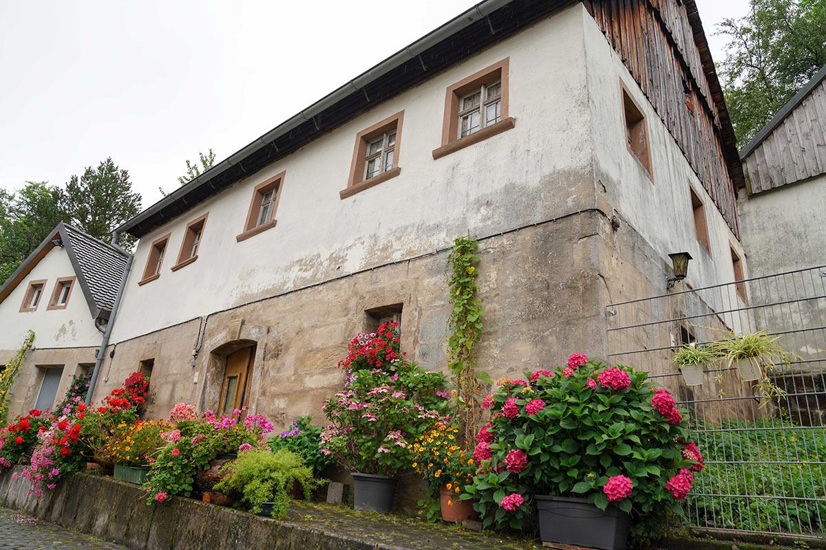 Nebengebäude der Schlehenmühle